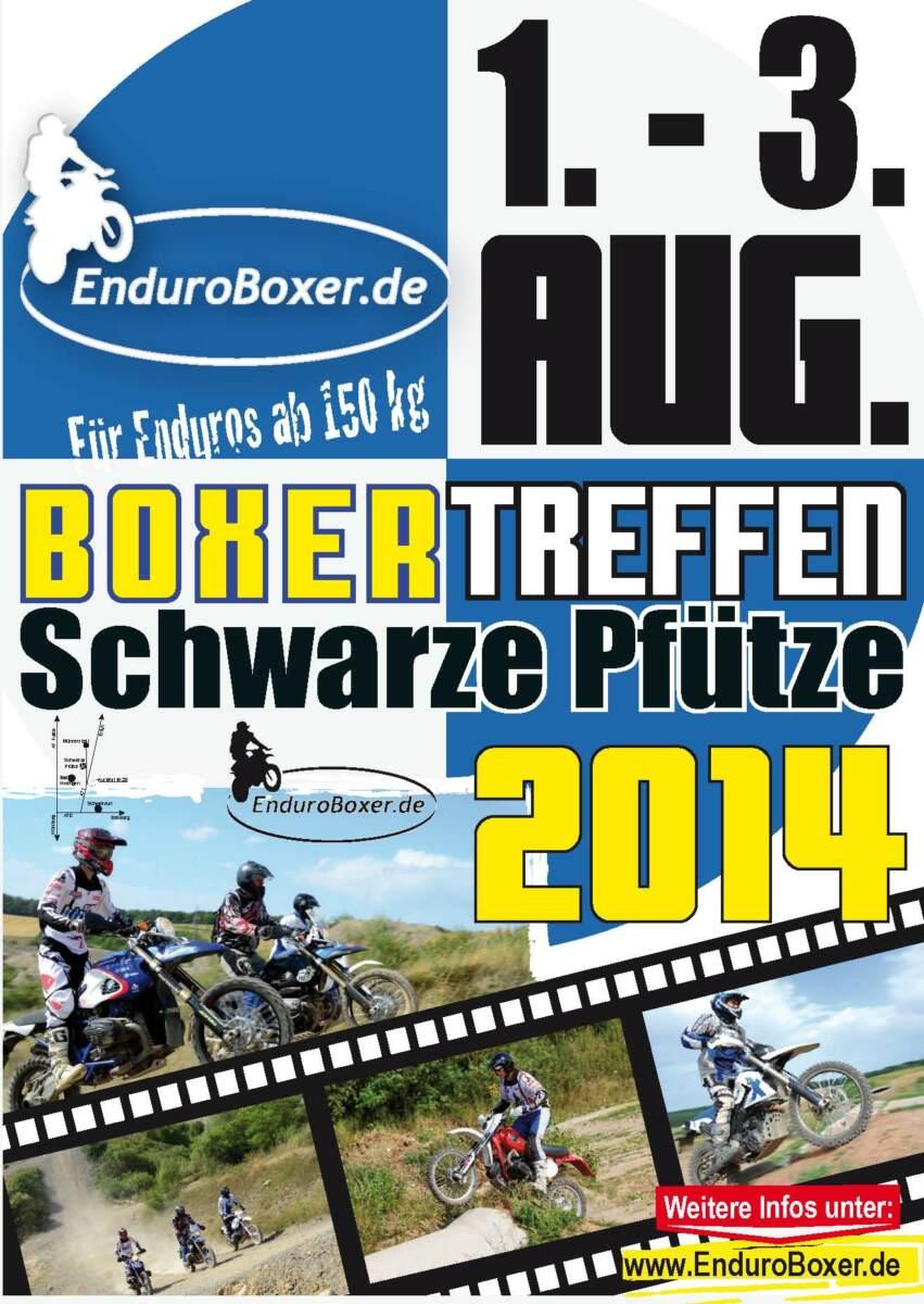 Plakat für das EnduroBoxer Treffen 2014