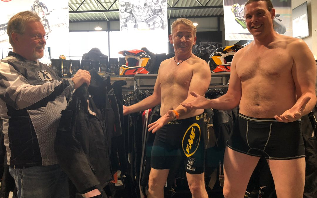 KLIM Bekleidung als Begleitung für die EnduroBoxer Tour 2018