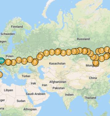 Der EnduroBoxer Trip 2018 Mongolei - Russland - Deutschland